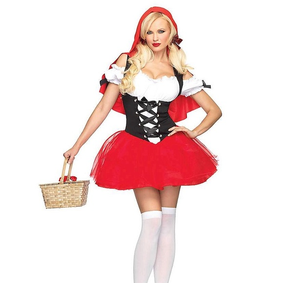 Leg Avenue Other - Racy red riding hood costume